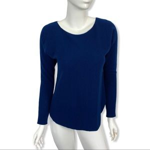 Vince Sweater XS Wool Cashmere Blue